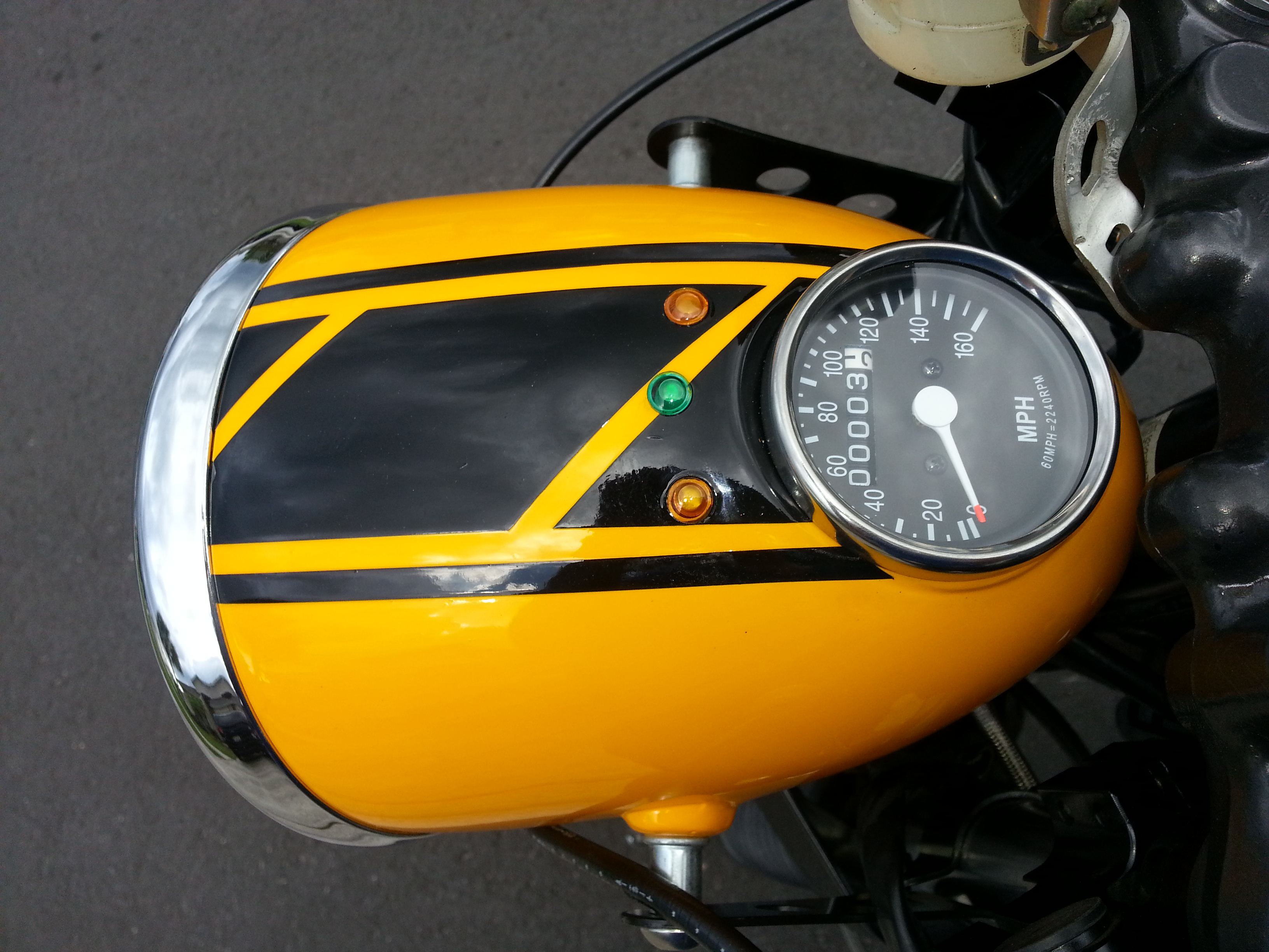 Universal Headlight With or with out 2 5 inch Speedo