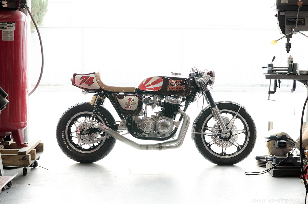Exhaust 4 Into 1 Cb750 Sohc Yoshimura Style Choice Of Raw Steel Or 1970 Honda Cb750f If
